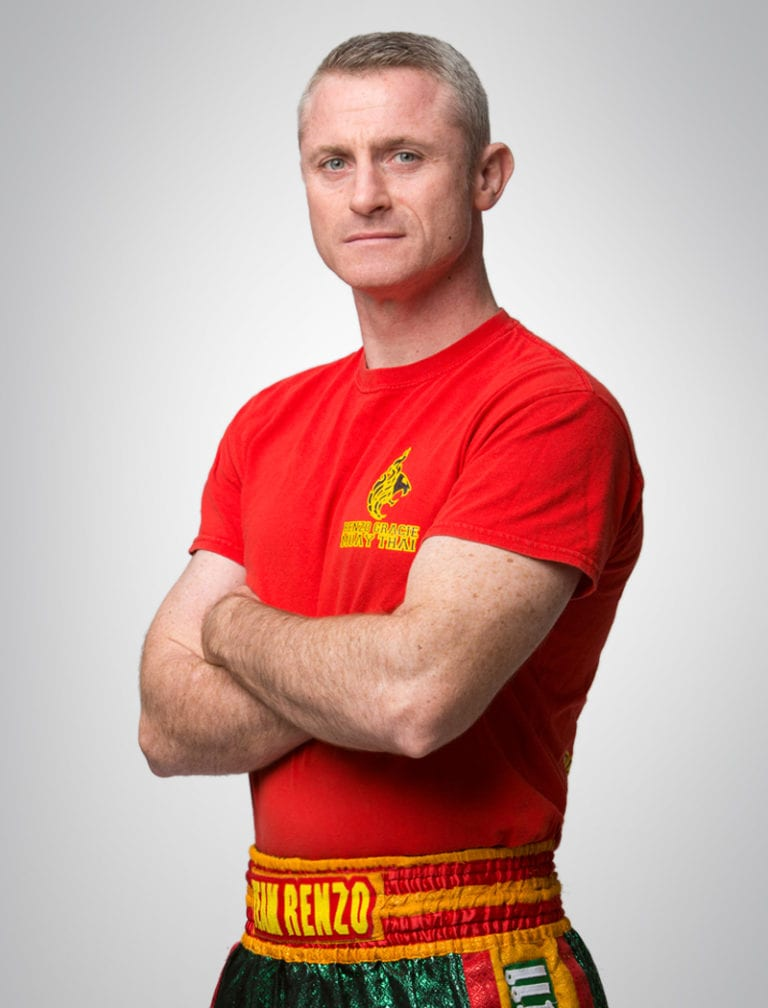 Mike McKee Muay Thai instructor at renzo gracie academy
