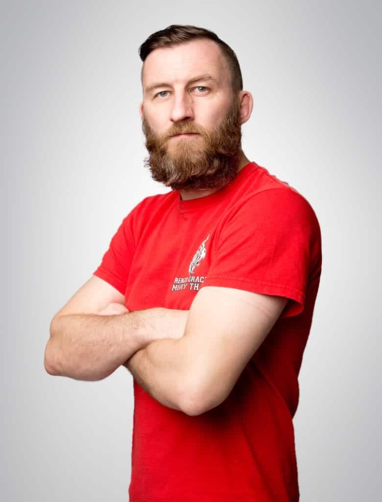 Jamie Crowder - head MMA coach