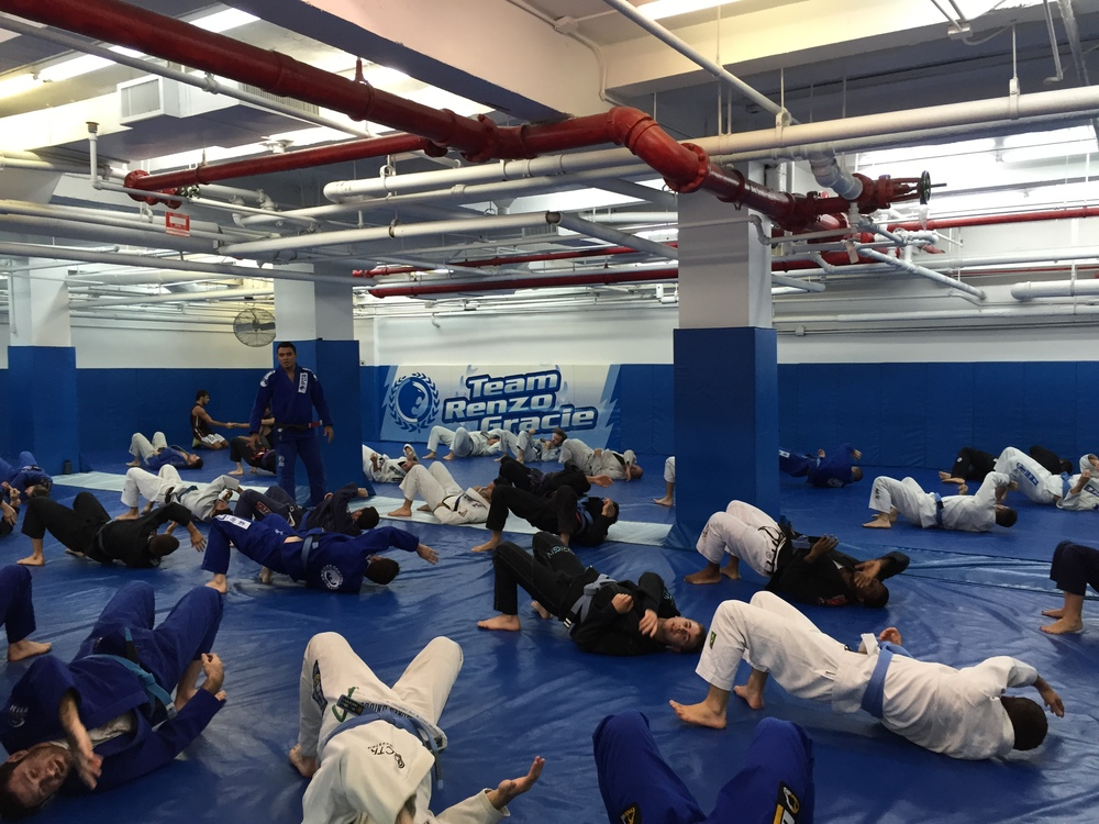 Students training at the academy