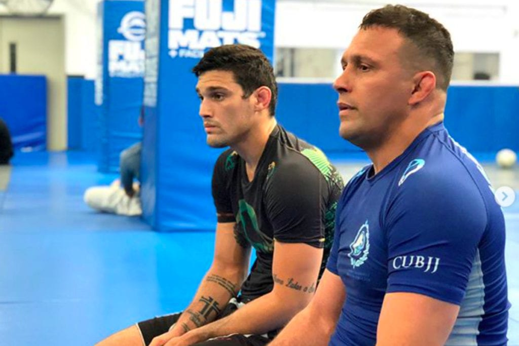 Renzo Gracie and brother Robson Gracie